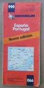 Carte Michelin - Espana Portugal - 1980 - Cartes