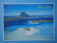 Bora Bora - Polinesia Francese - Panorama - Francobolli Filatelici - Polinesia Francese