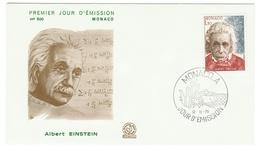Monaco // FDC // 1979 //  Albert Einstein - FDC
