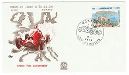 Monaco // FDC // 1979 //  Grand Prix Automobile - FDC