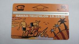 Austria-(p379m)-hawaii Triathlon-(409l)-(20ein)-tirage-800-+1card Prepiad Free - Oesterreich
