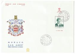 Monaco // FDC // 1979 //  S.A.S. Albert, Prince Héréditaire De Monaco - FDC