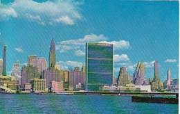 New York City Mid Manhattan Showing United Nations Secretariat B