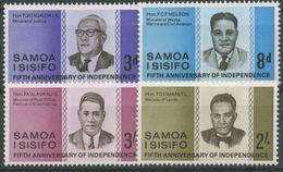 Samoa, 1967, SG 274 - 277,  Set Of 4, MNH - Samoa (Staat)