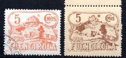 LOTE 1333  ///  (C100) ESPAÑA PATRIOTICOS    FUENGIROLA  (MALAGA)          ¡¡¡¡¡¡ LIQUIDATION !!!!!!!! - Vignettes De La Guerre Civile
