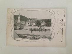 B2965 - Savona, Calizzano, Borgo E Frazioni, Viaggiata 1903 - Savona