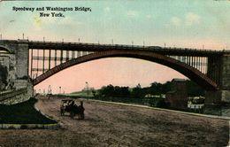 NEW YORK - Speedway And Washington Bridge - Ponts & Tunnels