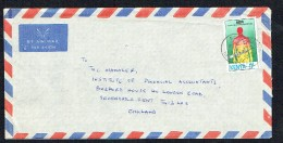 1992  Air Letter To USA - Fight AIDS - Sterilize Syringe Before Use  11/- - Kenya (1963-...)