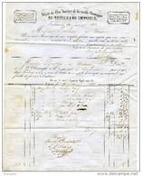 Toulouse1857, Dépôt Zinc Laminé Vieille Montagne,plomb,tôles, Clouterie Fer à Cheval Boeufs,,Bernès Muret - Documenti Storici