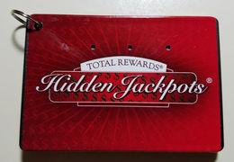 Harrah's Total Rewards Hidden Jackpots WinFinder - 3.25 X 2.25 X 0.25 Inch Plastic Box With Small Keyring - Casino Cards