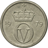 Norvège, Olav V, 10 Öre, 1979, TTB+, Copper-nickel, KM:416 - Norvège