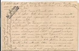 ITALIA RARA 1917 LETTERA DI 4 FOGLI CENSURATI A GENOVA Per Essere Inviati All'estero Scritti Per 2 Membri Della Famiglia - Documentos Históricos