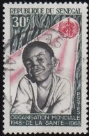 SENEGAL - Scott #308 WHO, 20th Anniv. / Used Stamp - Senegal (1960-...)