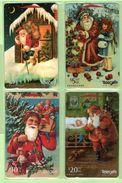 New Zealand - 1996 Christmas Set (4) - NZ-G-142/145 - Very Fine Used - Nuova Zelanda
