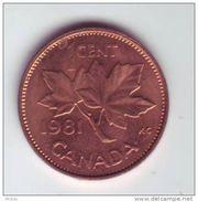 Canada, 1981, 1¢, Élizabeth II - Canada
