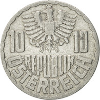 Autriche, 10 Groschen, 1953, Vienna, SUP, Aluminium, KM:2878 - Autriche