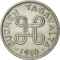 Finlande, Markka, 1960, SUP, Nickel Plated Iron, KM:36a - Finlande