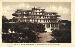 Giens (Var) - Hôpital Renée-Sabran - Nouveau Pavillon De Cure Solaire - Cliché E. Vargoz - Health