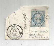 Lettre Partielle , Timbre ,  MONTRICHARD , 1855 , 2146 - 1849-1876: Période Classique