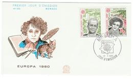 Monaco // FDC // 1980 // Europa 1980 - FDC