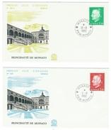 Monaco // FDC // 1980 // Effigie Du Prince (2 Lettres) - FDC