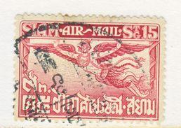 SIAM    C 5   Perf. 14   (o) - Siam
