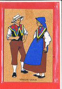 Carte En Liege Cp Animée Venezia Giulia - Cartoline