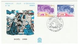 Monaco // FDC // 1980 // Noël 1980 - FDC