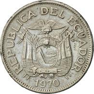 Équateur, Sucre, Un, 1970, TTB+, Nickel Clad Steel, KM:78b - Ecuador