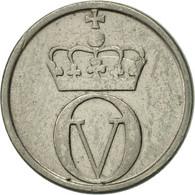 Norvège, Olav V, 10 Öre, 1962, TTB+, Copper-nickel, KM:411 - Norvège