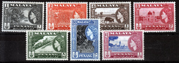 PENANG   1957  MH  STAMPS  S.G. CAT.VALUE £ 20.00. - Penang