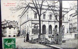 81 MAZAMET L'HOTEL DE VILLE  PETIT MARCHE FORAIN  ET MAGASIN  CHAPELLERIE - Mazamet