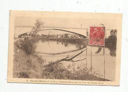 Cp , 94 , BRY SUR MARNE , Bord DeMarne Prés Du Pont Du Chemin De Fer , Voir Timbre, Voyagée 1931 - France
