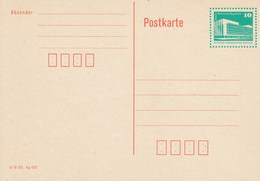 DP 89 ** Bauwerke Berlin Palast Der Republik -  -  Mit Druckvermerk Unten Links - [6] Repubblica Democratica