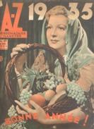 Revue AZ N°41/1934-Détail Voir Descriptif- Chanteurs Rues,prison, Gravure Bois, Poupées, Nismes, Charleroi, Schon (aub - Livres, BD, Revues