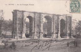 Cp , 51 , REIMS , L'Arc De Triomphe Romain - Reims