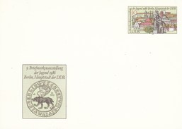 DP 94 **  9. Briefmarkenausstellung Der Jungen 1986 Berlin, Hauptstadt Der DDR - [6] Repubblica Democratica