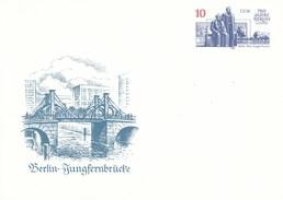 DP 96 **  750 Jahre Berlin - Baudenkmäler - Max-Engels-Forum - Berlin-Jungfernbrücke - [6] Democratic Republic