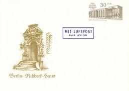 DP 98 **  750 Jahre Berlin - Baudenkmäler - Frierichstadtpalast - Berli - Ribbeck Haus - Private Covers - Mint