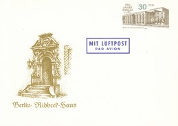 DP 98 **  750 Jahre Berlin - Baudenkmäler - Frierichstadtpalast - Berli - Ribbeck Haus - [6] Repubblica Democratica