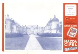 ---- BUVARD ----  MADZA CIPEL - Château De Oiron Deux Sevres   - Excellent état - Produits Ménagers