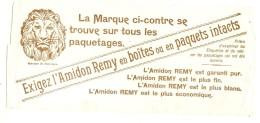 ---- BUVARD ---- Exigez L'Amidon Rémy - TB - Textile & Clothing
