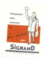 ---- BUVARD ---- SIGRAND  Spécialiste Du Vêtement D'enfant - Habillé Par SIGRAND - Excellent état - Textile & Vestimentaire