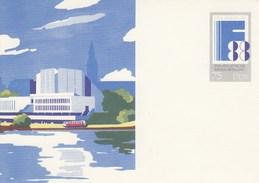 DP 100 **  FINLANDIA 88 - Philatelistische Weltausstellung - Teilansicht Von Helsinki - [6] Oost-Duitsland
