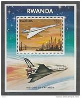 RWANDA 1978 - Histoire De L'Aviation, Concorde - BF Neuf // Mnh - Rwanda