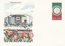 "DP 101 ** Philatelistische Weltausstellung  ""BULGARIA´89 In Sofia - Volkskulturpalast - [6] Repubblica Democratica"