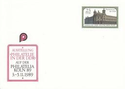 """DP 104 **  Ausstellung """"philatelie In Der DDR Auf Der Philatalia Köln 3.-5.11.1989 - Postmuseum Der DDR - [6] Oost-Duitsland"""