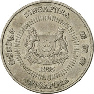 Singapour, 50 Cents, 1995, Singapore Mint, SUP, Copper-nickel, KM:102 - Singapour