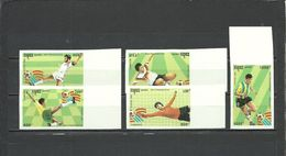 CAMBODIA, CAMPUCHEA  1993   Soccer Football  World Cup 1994  5v. Imperf. Margins  Rare! - World Cup