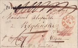 17982# POLOGNE LETTRE Obl WARSZAWA 1832 FRANCO PAYE  Pour VIENNE AUTRICHE WIEN OESTERREICH POLSKA VARSOVIE - Polen